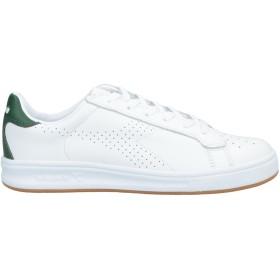 《期間限定セール開催中!》DIADORA メンズ スニーカー&テニスシューズ(ローカット) ホワイト 6 革