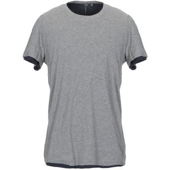 《セール開催中》VINCE. メンズ T シャツ グレー S ピマコットン 100%