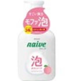 ナイーブ泡で出てくるボディソープ桃の葉エキス配合フルーティフローラルの香り500ml