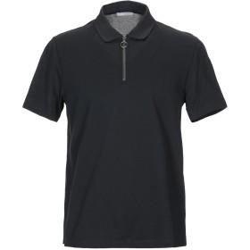 《期間限定セール開催中!》VINCE. メンズ ポロシャツ ブラック L コットン 100%