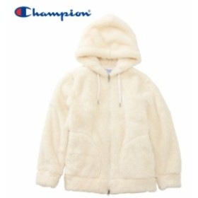チャンピオン フリースジャケット ジップフード レディース CW-L604-020