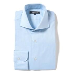 【カタログ掲載】B:MING by BEAMS / オックスフォード カッタウェイカラー シャツ メンズ ドレスシャツ SAX L
