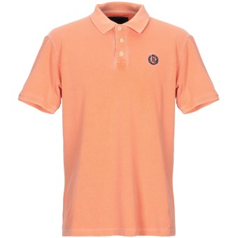 《9/20まで! 限定セール開催中》HENRI LLOYD メンズ ポロシャツ オレンジ XL コットン 100%