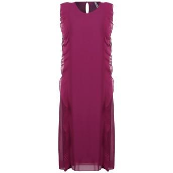 《セール開催中》SOUVENIR レディース 7分丈ワンピース・ドレス ガーネット S ポリエステル 100%