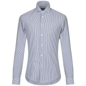 《期間限定セール開催中!》BRIAN DALES メンズ シャツ ブルー 43 コットン 100%