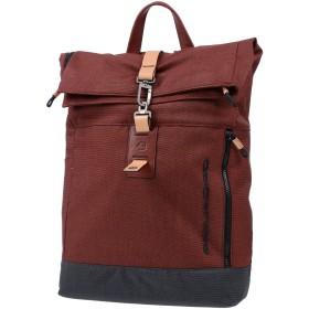 《期間限定セール中》PIQUADRO メンズ バックパック&ヒップバッグ レンガ 紡績繊維
