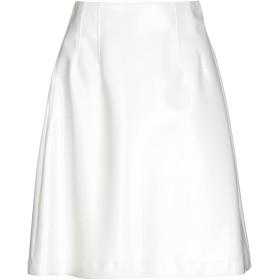《期間限定 セール開催中》JIL SANDER NAVY レディース ひざ丈スカート ホワイト 36 ポリウレタン 60% / ポリエステル 40%