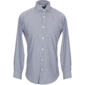 《期間限定セール開催中!》MASSIMO LA PORTA メンズ シャツ ダークブルー 39 コットン 100%
