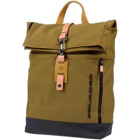 《期間限定セール中》PIQUADRO メンズ バックパック&ヒップバッグ オークル 紡績繊維