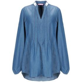 《セール開催中》NOUVELLE FEMME レディース デニムシャツ ブルー 40 コットン 100%