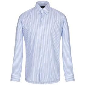 《送料無料》TRU TRUSSARDI メンズ シャツ ホワイト 40 コットン 100%