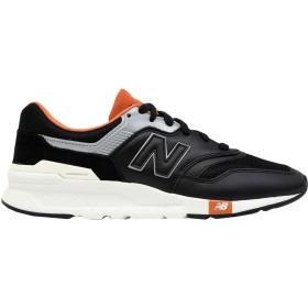 《期間限定セール開催中!》NEW BALANCE メンズ スニーカー&テニスシューズ(ローカット) ブラック 7 革 / 紡績繊維 997