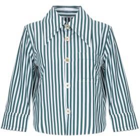 《セール開催中》MARNI レディース シャツ ダークグリーン 38 コットン 100%
