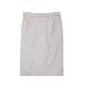ボッシュ BOSCH [ウォッシャブル]シャークスキンタイトスカート グレー 38【税込10,800円以上購入で送料無料】