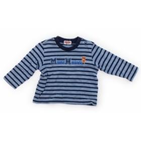 【ミキハウス/mikiHOUSE】Tシャツ・カットソー 80サイズ 男の子【USED子供服・ベビー服】(347262)