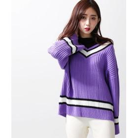 ニット・セーター - WEGO【WOMEN】 チルデンニット BR19SP01-L041