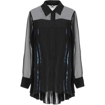 《セール開催中》TWINSET UNDERWEAR レディース シャツ ブラック S ポリエステル 100%