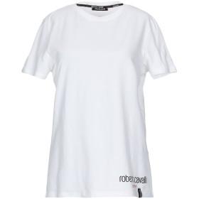 《9/20まで! 限定セール開催中》ROBERTO CAVALLI レディース T シャツ ホワイト XS コットン 95% / ポリウレタン 5%