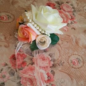 bd3c38f756578 ... 結婚式 ヘアアクセ ベビー カチューシャ 1歳誕生日 誕生日 ひな祭り 花冠. ¥1