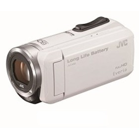 JVC KENWOOD JVC ビデオカメラ EVERIO 内蔵メモリー32GB ホワイト GZ-F100-(中古品)