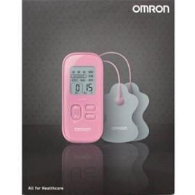 オムロン 低周波治療器(ピンク)OMRON HV-F021-PK(中古品)