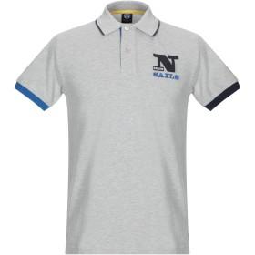 《期間限定 セール開催中》NORTH SAILS メンズ ポロシャツ ライトグレー S コットン 100%