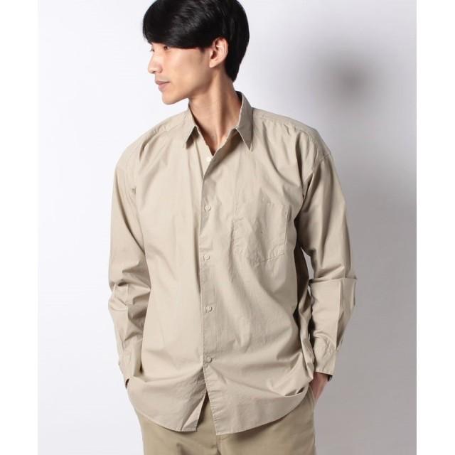 【50%OFF】 コエ ブロ ドムジビッグシルエットシャツ メンズ ベージュ S 【koe】 【セール開催中】