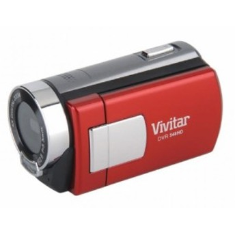 Vivitar 5.1 MP HD 4X Digital Camcorder Recorder 548 w/ 2-inch Screen R(中古品)