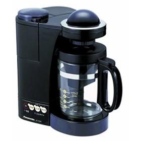 パナソニック コーヒーメーカー ブラック NC-S35P-K(中古品)