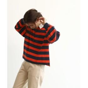 OZOC(オゾック) [洗える]ラガープルオーバーシャツ