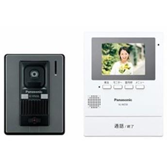 パナソニック テレビドアホン モニター親機 カメラ玄関子機(VL-V522L-S)セ (中古品)
