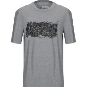 《期間限定セール開催中!》MAISON MARGIELA メンズ T シャツ グレー 48 コットン 100%