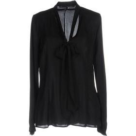 《期間限定セール開催中!》ANNARITA N レディース シャツ ブラック 44 ポリエステル 100%