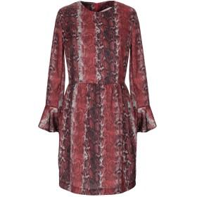 《期間限定セール開催中!》VICOLO レディース ミニワンピース&ドレス 赤茶色 S ポリエステル 100%