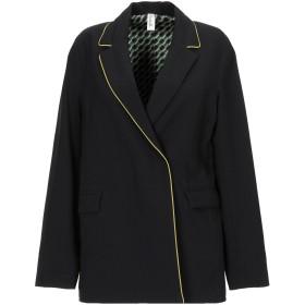 《期間限定 セール開催中》SOUVENIR レディース テーラードジャケット ブラック S ポリエステル 75% / レーヨン 20% / ポリウレタン 5%