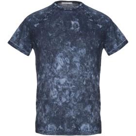 《9/20まで! 限定セール開催中》WOOL & CO メンズ T シャツ ブルーグレー M コットン 100%