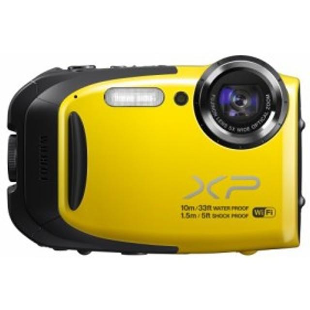 FUJIFILM コンパクトデジタルカメラ XP70Y イエロー F FX-XP70Y(中古品)