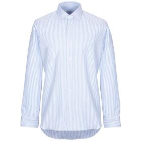 《セール開催中》SALVATORE PICCOLO メンズ シャツ スカイブルー 38 コットン 100%