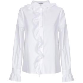 《セール開催中》SOALLURE レディース シャツ ホワイト 38 コットン 97% / ポリウレタン 3%