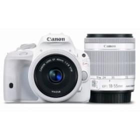 Canon デジタル一眼レフカメラ EOS Kiss X7(ホワイト) ダブルレンズキット2(中古品)