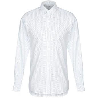 《セール開催中》MASSIMO REBECCHI メンズ シャツ ホワイト 39 コットン 100%