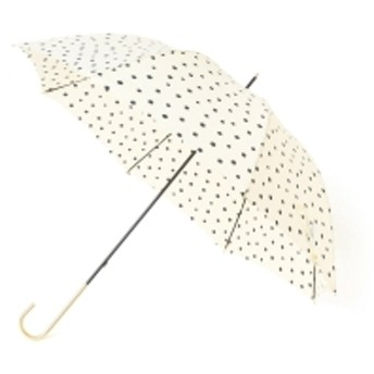 w.p.c / スモールドット長傘 レディース 折りたたみ傘 WHITE ONE SIZE
