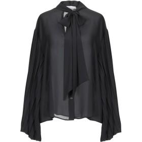 《期間限定 セール開催中》KAOS レディース シャツ ブラック 40 ポリエステル 100%