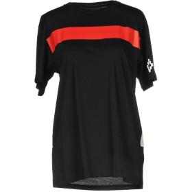 《9/20まで! 限定セール開催中》MARCELO BURLON レディース T シャツ ブラック XXS コットン 100%