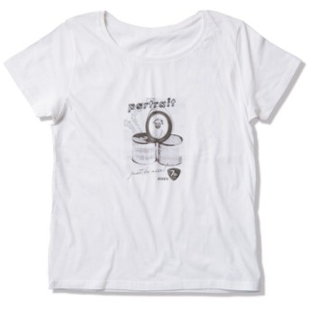 Tシャツ レディース「パグのポートレイト」受注生産