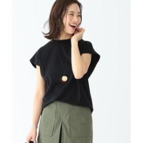 B:MING by BEAMS / トンプキン フレンチショートTシャツ 19SS レディース Tシャツ BLACK ONE SIZE