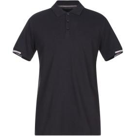 《期間限定セール開催中!》LES COPAINS メンズ ポロシャツ ダークブルー 48 コットン 100%