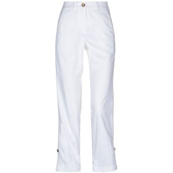 《セール開催中》ARGONNE by PESERICO レディース パンツ ホワイト 44 コットン 97% / ポリウレタン 3%