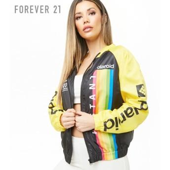 FOREVER21 フォーエバー21 【Polaroidカラーブロックウィンドブレーカー】(5,000円以上購入で送料無料)