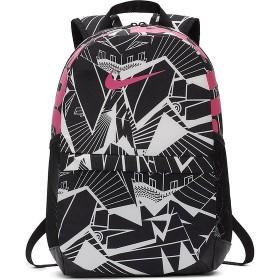 スポーツアクセサリー バッグパック ナイキ YA ブラジリア AOP バックパック ジュニア NIKE (ナイキ) BA5755-011 ブラック/ブラック/(レーザーフューシャ)